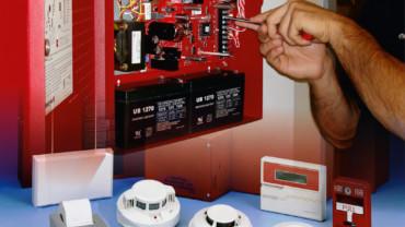 Установка охранно-пожарной сигнализации